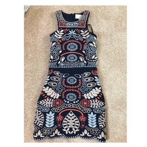 Urban outfitters embroidered dress